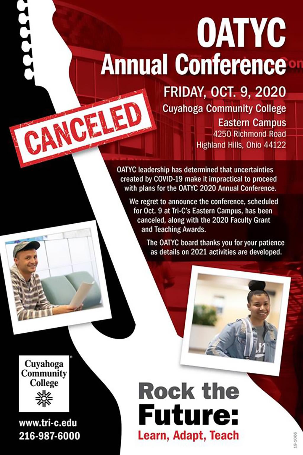 OATYC 2020 - Canceled